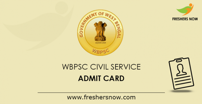 WBPSC-Civil-Service-Admit-Card