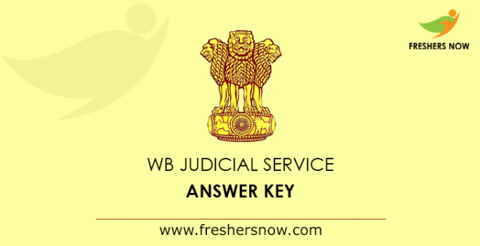 West Bengal Judicial Service Answer Key