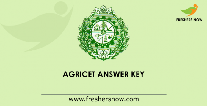 AGRICET Answer Key 2019