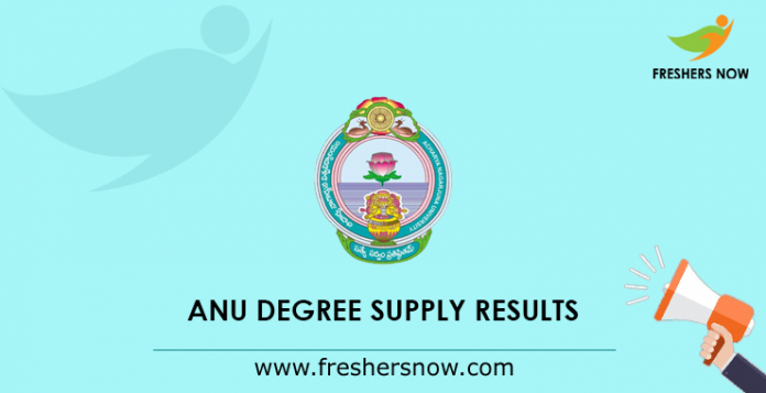 ANU Degree Supply Results 2019