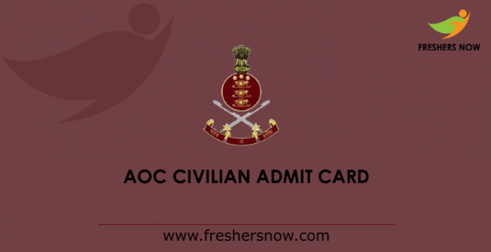 AOC-Civilian-Admit-Card