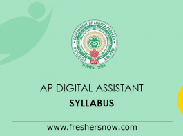 AP Digital Assistant Syllabus 2019