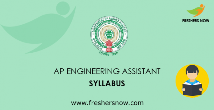 AP Civil/ Mechanical Engineering Assistant Syllabus 2019