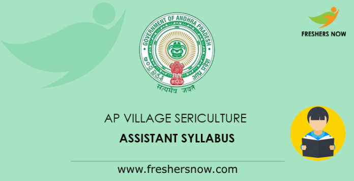 AP Village Sericulture Assistant Syllabus