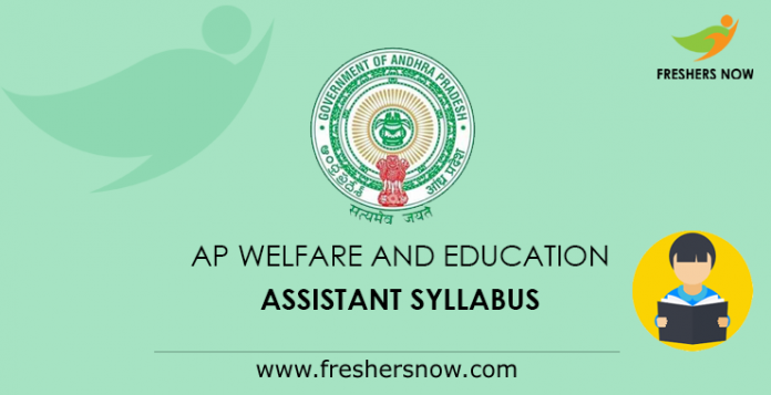 AP Welfare and Education Assistant Syllabus
