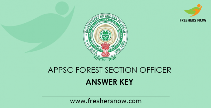 APPSC Forest Section Officer Answer Key