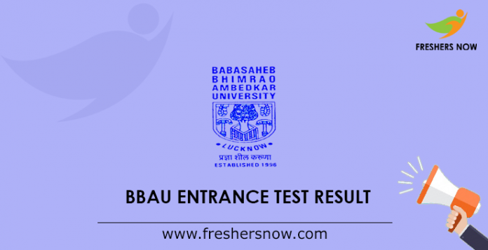 BBAU Entrance Test Result