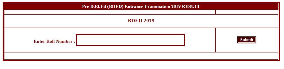 CG Pre D.El.Ed Result 2019 Page