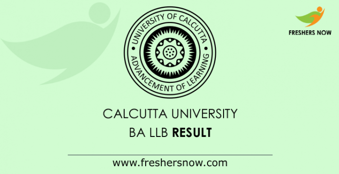 Calcutta-University-BA-LLB-Result