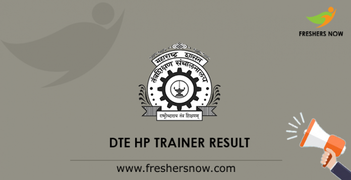DTE HP Trainer Result