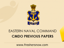 Eastern Naval Command CMDO Previous Papers