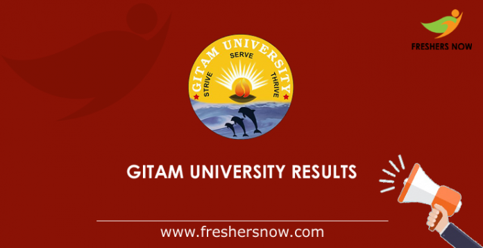 GITAM-University-Results