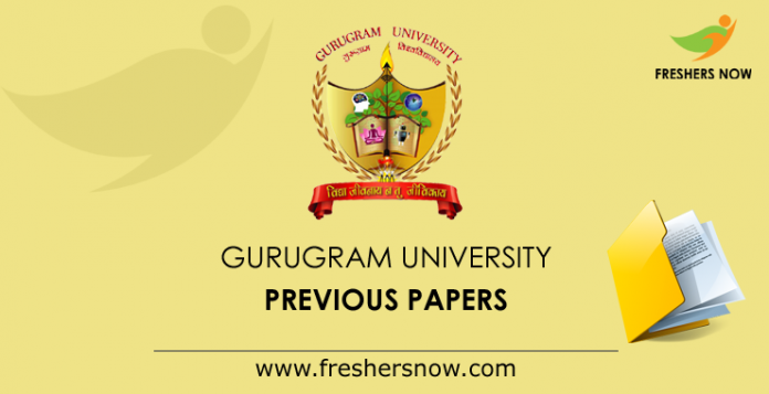 Gurugram-University-Previous-Papers