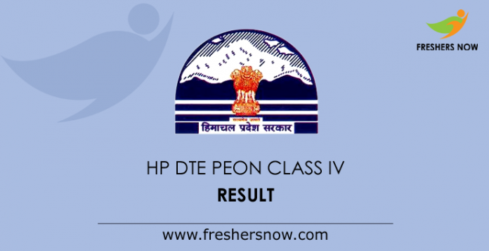 HP-DTE-Peon-Class-IV-Result