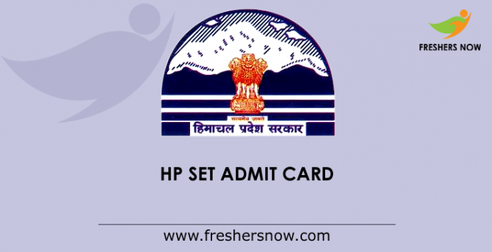 HP SET Admit Card 2019