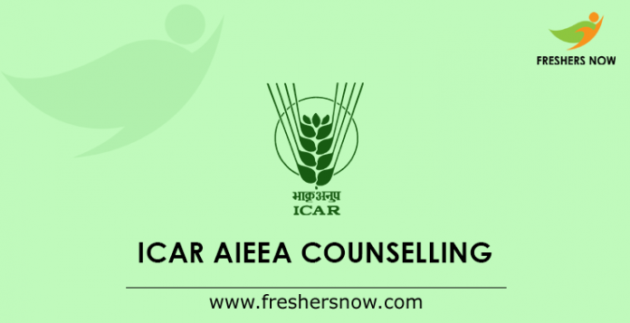 ICAR AIEEA Counselling