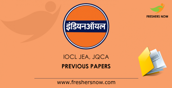 IOCL-JEA,-JQCA-Previous-Papers