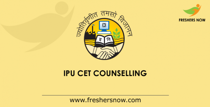 IPU CET Counselling