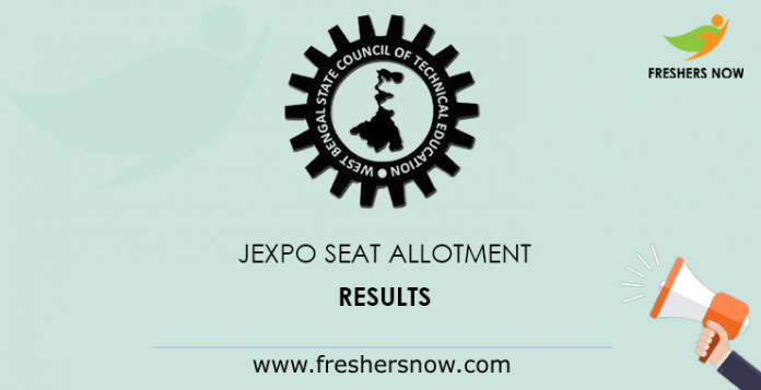JEXPO Seat Allotment Results