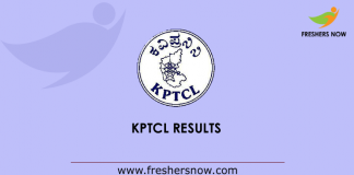KPTCL Result 2019
