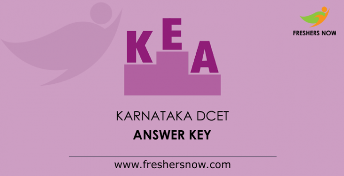Karnataka DCET Answer Key