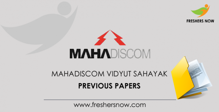 MAHADISCOM-Vidyut-Sahayak-Previous-Papers