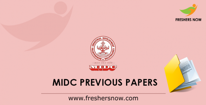 MIDC Previous Papers PDF | Helper, Clerk Typist, Peon Solved