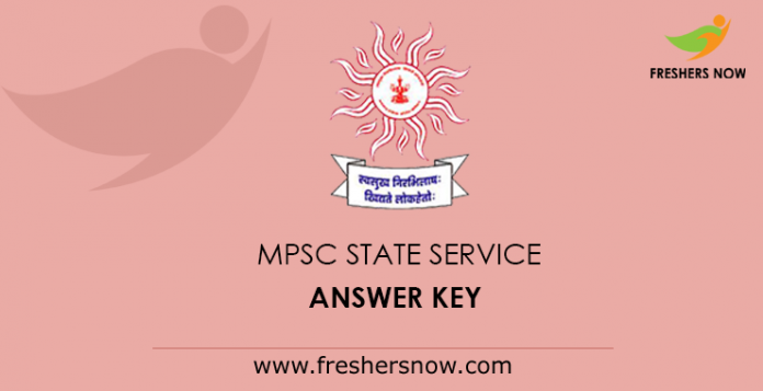MPSC State Service Answer Key