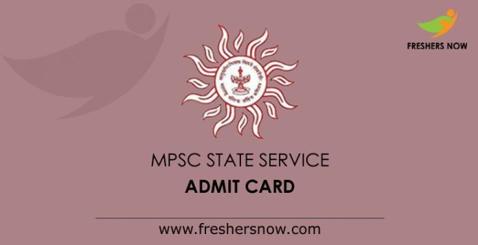 MPSC State Service Mains Admit Card 2019 Out | Group A, B