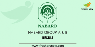 NABARD-Group-A-&-B-Result