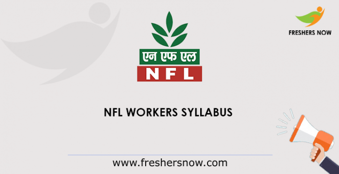 NFL WORKERS SYLLBUS