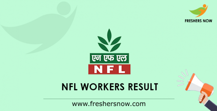 NFL Workers Result