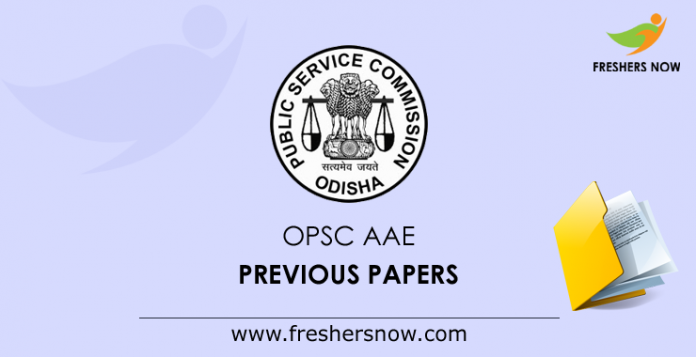 OPSC AAE Previous Papers