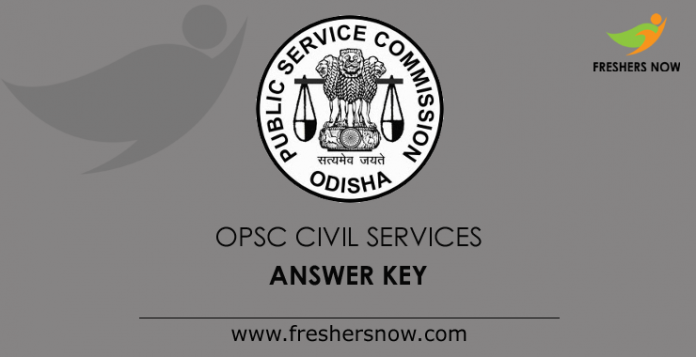 OPSC Civil Services Mains Answer Key 2019
