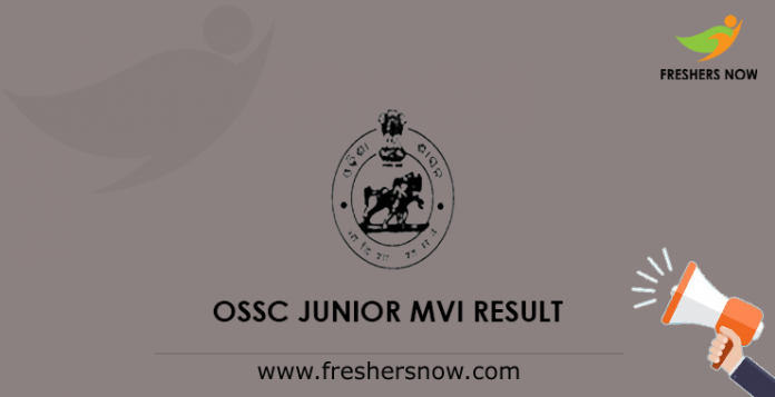 OSSC Junior MVI Result