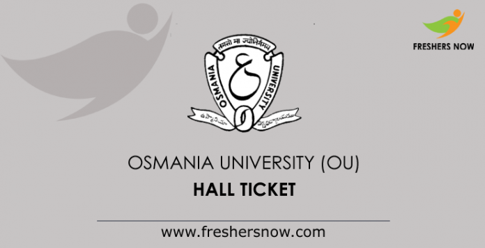 OU Hall Ticket