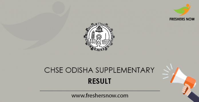 Odisha CHSE Supplementary Result