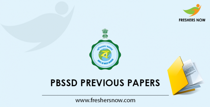 PBSSD Previous Papers