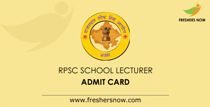 RPSC-School-Lecturer-Admit-Card