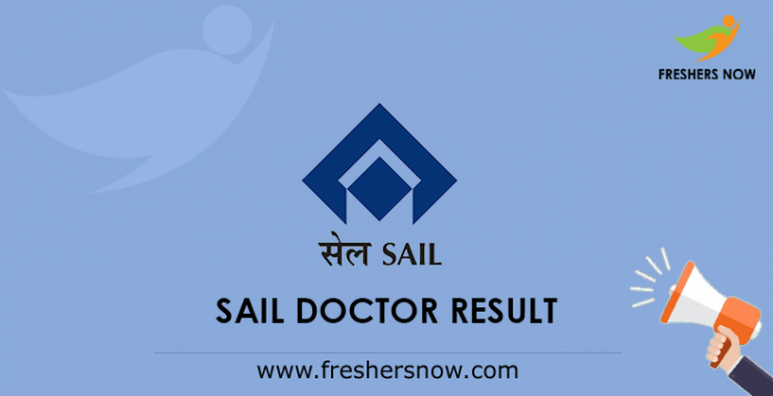 SAIL Doctor Result