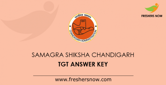 Samagra Shiksha Chandigarh TGT Answer Key