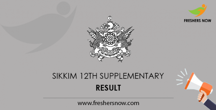 Sikkim 12th Supplementary Result