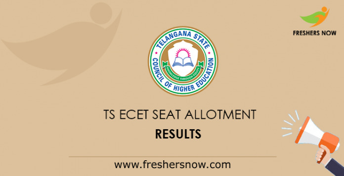 TS ECET 2nd Phase Seat Allotment Results