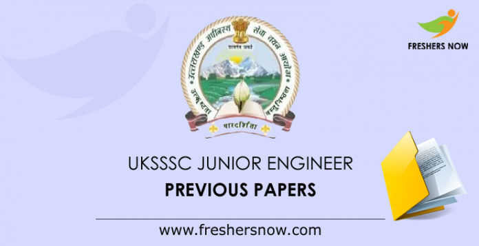 UKSSSC-Junior-Engineer-Previous-Papers