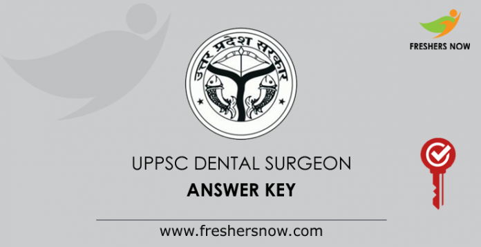 UPPSC Dental Surgeon Answer Key 2019