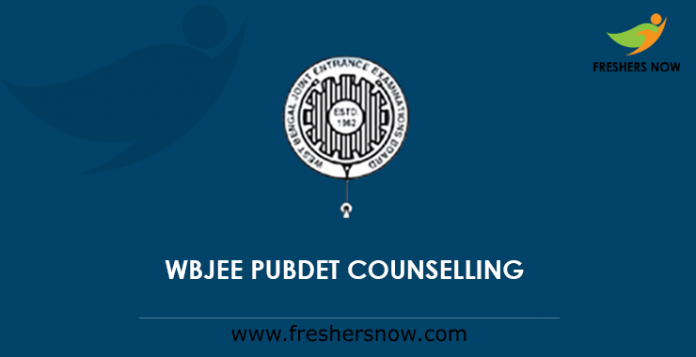 WBJEE PUBDET Counselling