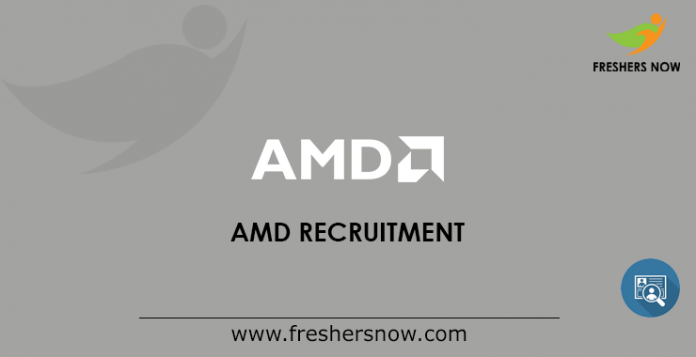 AMD Recruitment