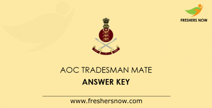 AOC Tradesman Mate Answer Key