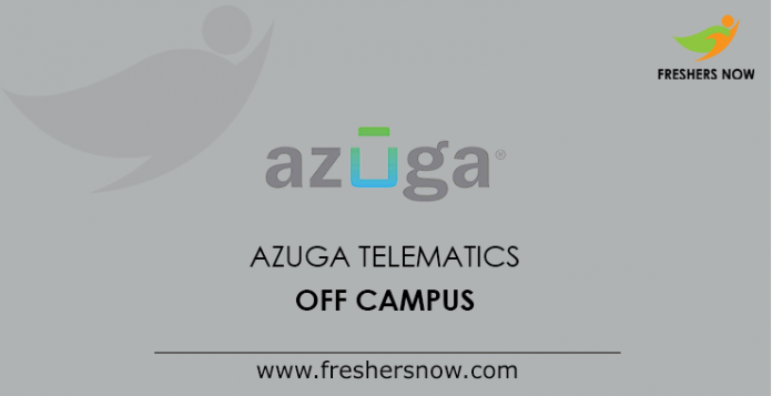 Azuga Telematics Off Campus