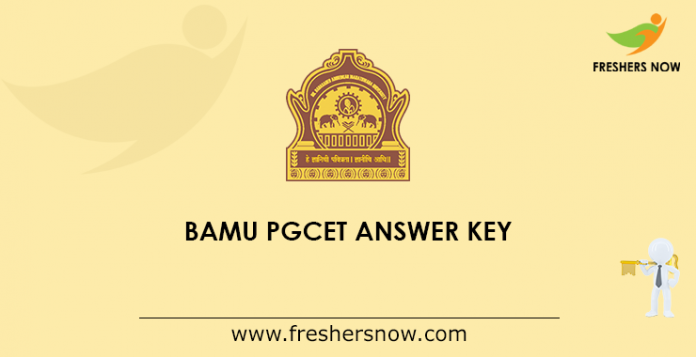 BAMU PGCET Answer Key